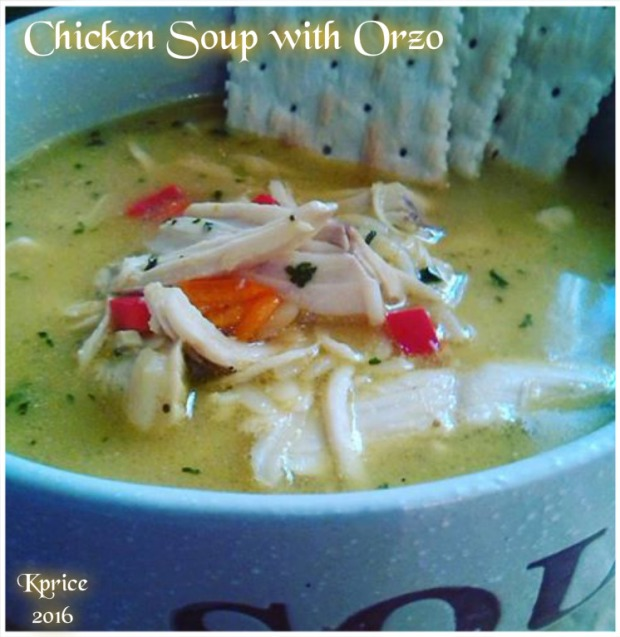 Chicken Soup ORZO